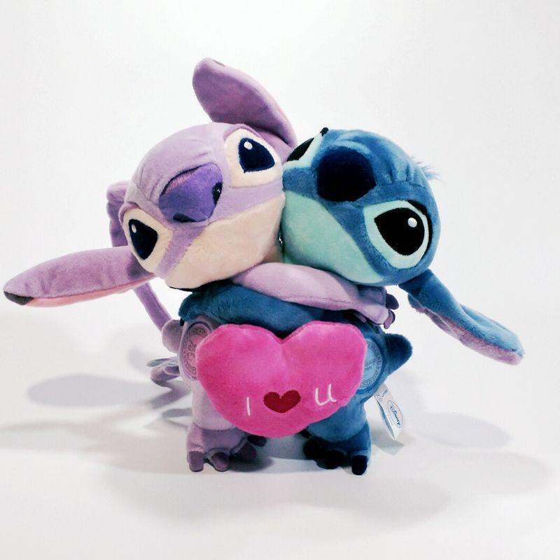 [해외]20cm 7.8 & Lilo와 스티치 완구 626 스티치와 624 천사 커플 러브 박제 인형 장난감에 대한 사랑 스럽다/20cm 7.8&& Lilo And Stitch Toys  626 Stitch And 624 Angel Couple love Stuff