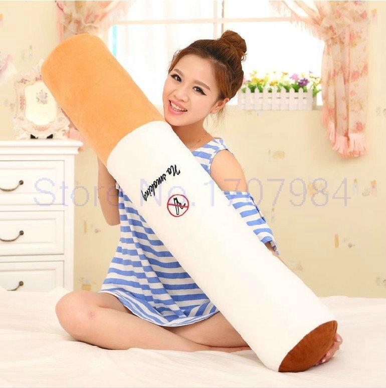 [해외]30-110CM 빅 사이즈 원통형 자고있는 담배 베개 남자 친구 생일 선물 플러시 장난감 F/30-110CM Big size Smoking cylindrical sleeping Cigarette pillow Boyfriend birthday gift plush