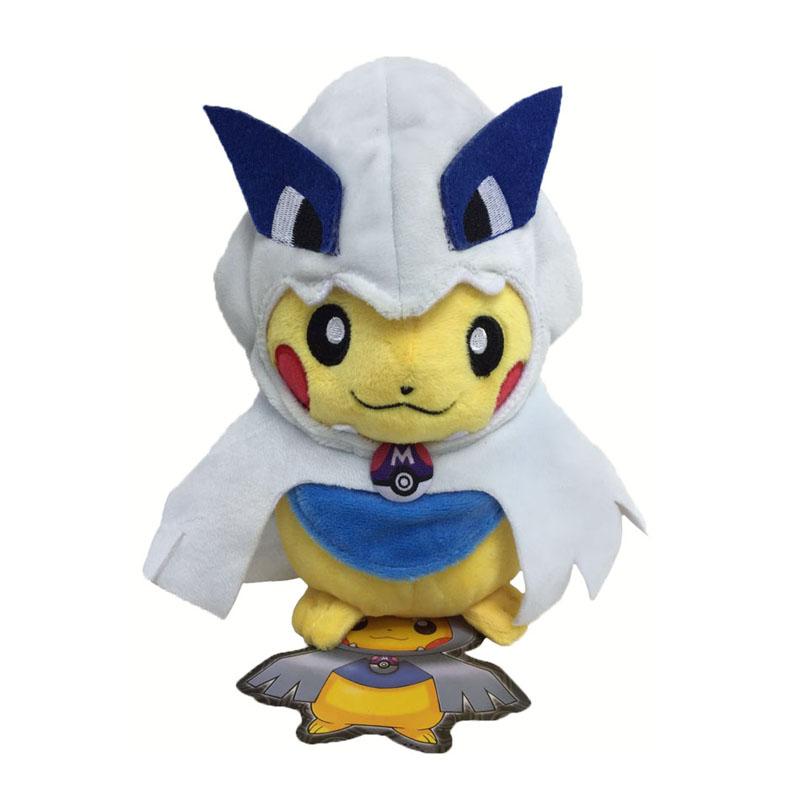 [해외]2017 1pcs / lot 8inch 20cm 피카추 코스프레 플러시 장난감 스마일 피카추 코스프레 루이지 플러시 인형 장난감 DollTag/2017   1Pcs/lot 8inch 20cm Pikachu Cosplay Plush Toy Smile Pikachu