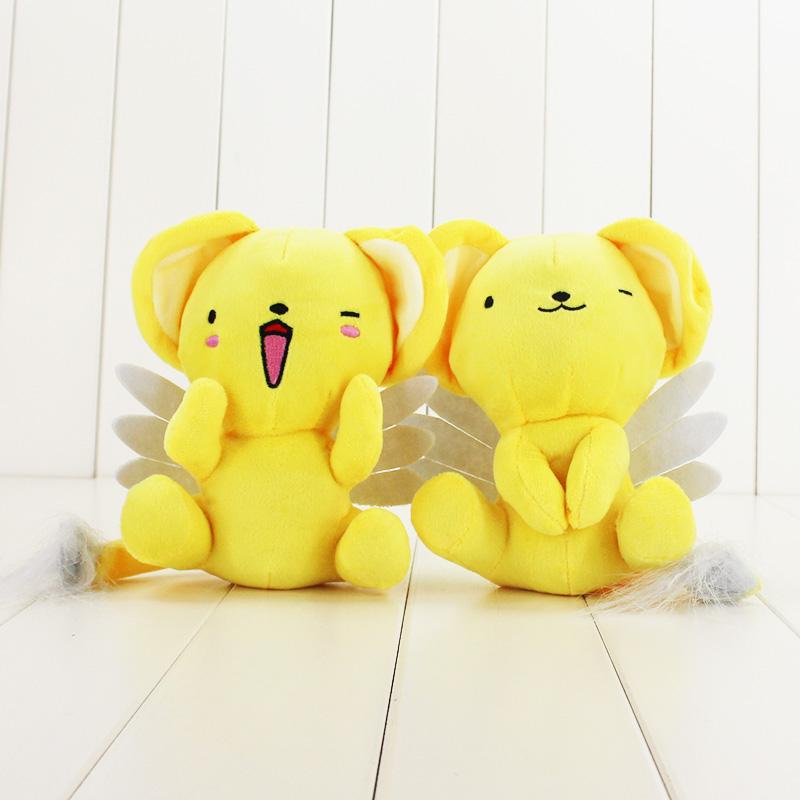 [해외]17cm Cardcaptor 사쿠라 케로 플러시 만화 인형 완구 핫 애니메이션 카드 캡쳐 인형 귀여운 만화 인형 장난감 부드러운 PP 코튼 선물/17cm Cardcaptor Sakura Kero Plush Cartoon Doll Toys Hot Anime Car