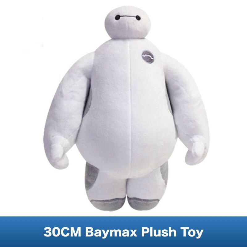 [해외]베이비 맥스 플러시 인형 영화 인물 빅 히어로 6 헬스 케어 로봇 품질 인형 12 인치 (30CM)/Baymax Plush Soft Doll of Movie Big Hero 6 Healthcare Companion Robot quality Stuffed Toys