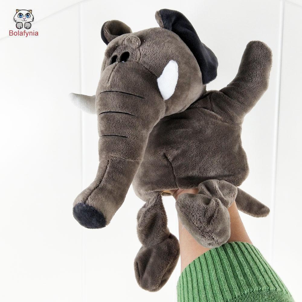 [해외]볼레피아 어린이 손 인형극 장난감 아기 아이 플러시 인형 장난감 큰 코 코끼리 크리스마스 생일 선물/BOLAFYNIA Children Hand Puppet Toys baby kid plush Stuffed Toy big nose Elephant for Chris