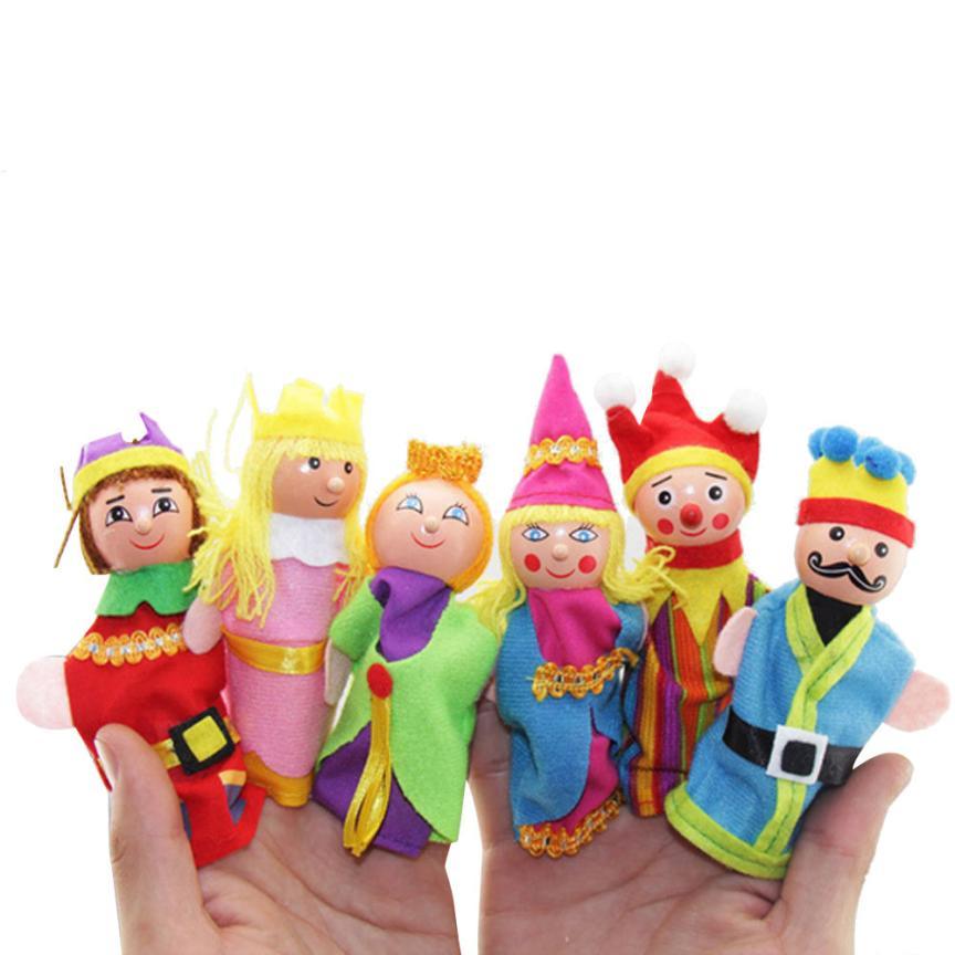 [해외]몬테소리 6 PCS 손가락 장난감 손 인형 크리스마스 선물은 우연히 카와이이에게 아이들을탁월한 디자인 퍼즐을 나타냅니다./Montessori  6 PCS Finger Toys Hand Puppets Christmas Gift Refers To Accidental