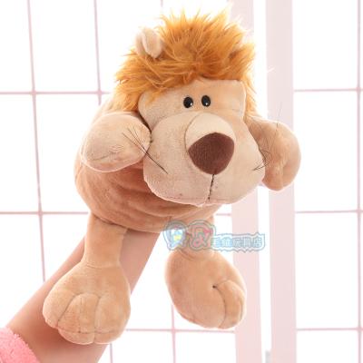 [해외]Candice guo 귀여운 만화 플러시 장난감 니키 동물 뚱땡 무당 벌레 늑대 기린 호랑이 사자 잠자는 손 인형 아기 이야기 1pc/Candice guo cute cartoon plush toy Nici animal hippo ladybug wolf giraf