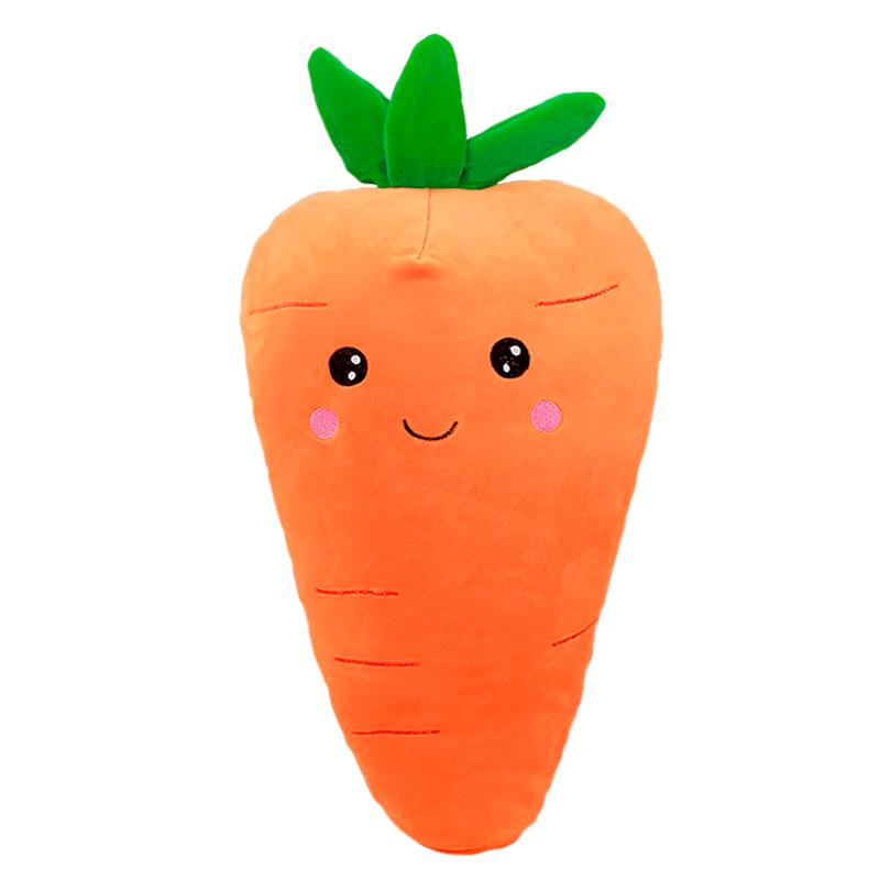 [해외]1pc 55cm 귀여운 미소 얼굴 당근 봉제 장난감 박제 면화 식물 봉제 베개 부드러운 소파 쿠션 아기 생일 선물/1pc 55cm cute Smile face carrot plush toy stuffedDown cotton plants plush pillow s