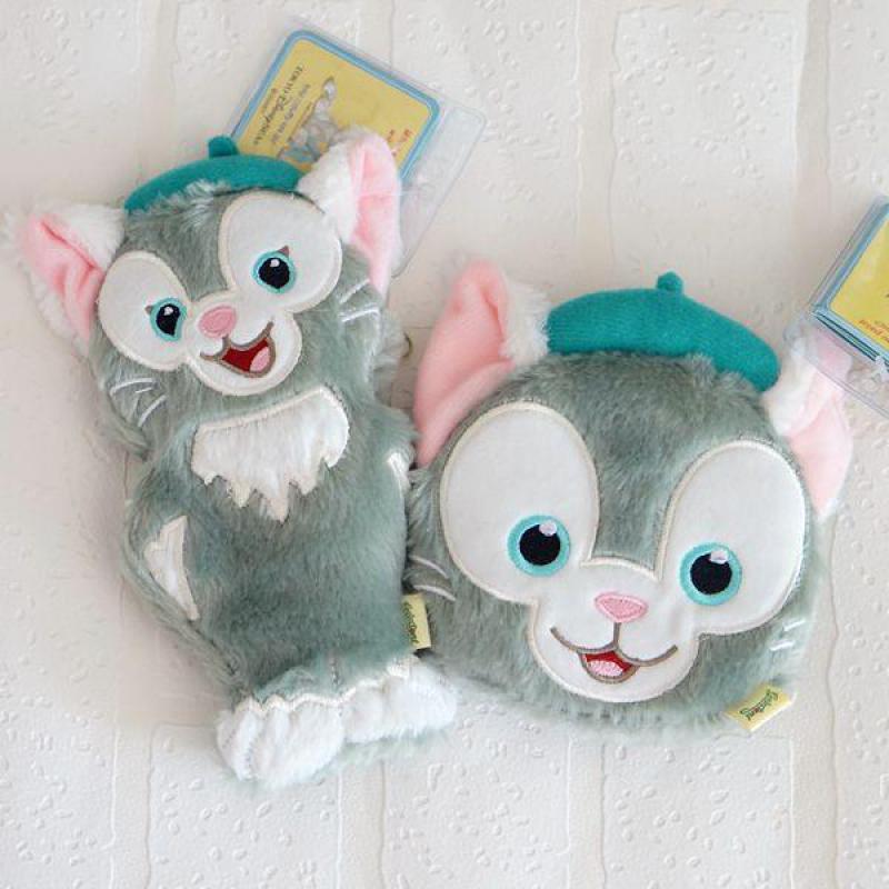 [해외]새로운 더피 베어 친구 Gelatoni 고양이 플러시 가방 인형 귀여운 인형 플러시 동전 지갑 만화 장난감 어린이를작은 선물 소녀/New Duffy Bear Friends Gelatoni Cat plush Bags doll Cute Stuffed Plush co
