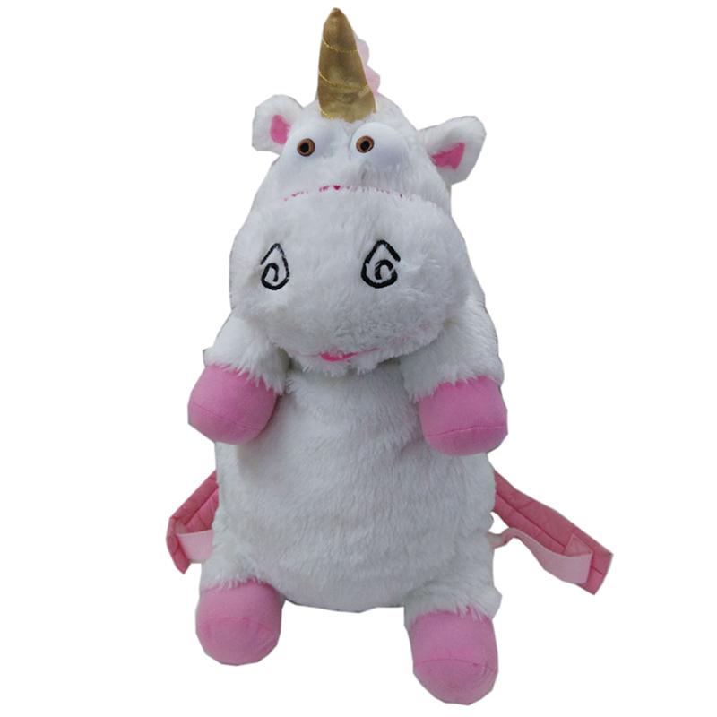 [해외]50cm 비열한 나 유니콘 가방 봉제 유니콘 여자를장난감 배낭 완구 어린이 생일 선물 귀여운 배낭 BB0059/50cm Despicable Me Unicorn Bag Plush Unicorns Toy Backpack Toys For Girls Kids Birth