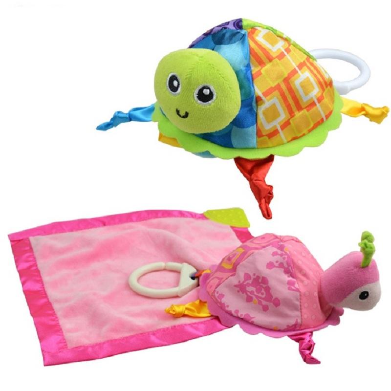 [해외]Hooyi 패션 아기 Placate 수건 어린이 수면 장난감 거북 마사지 흡수 부드러운 타올 벨 스무딩 수건 남쪽 소음/Hooyi Fashion Baby Placate Towel Children Sleep Toys Tortoise Massage Absorbent