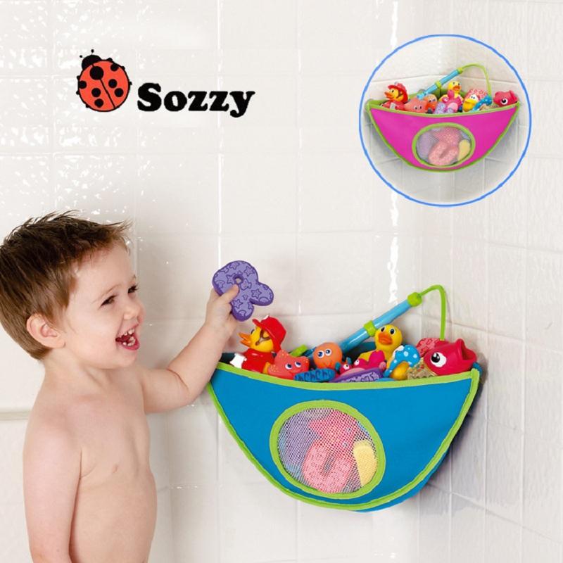 [해외]Hooyi 베이비 욕실 장난감 걸려 가방 핑크 블루 아이 배낭 목욕 스토리지 동물 만화 메쉬 Netlike 교수형 가방 걸려 바구니/Hooyi Baby Bathroom Toy Hang Bag Pink Blue Kids Backpack Bath Storage An