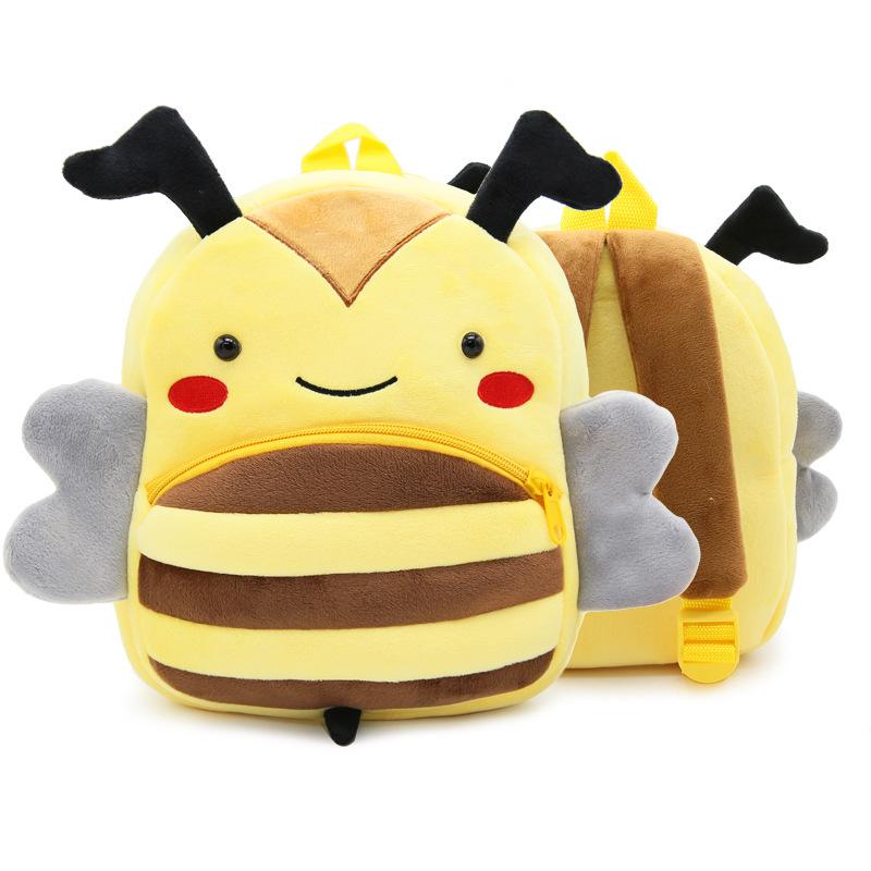 [해외]귀여운 만화 플러시 어린이 배낭 유치원 Schoolbag 동물 키즈 배낭 어린이 학교 가방 여자애 배낭/Cute Cartoon Plush Children Backpacks kindergarten Schoolbag Animal Kids Backpack Childr