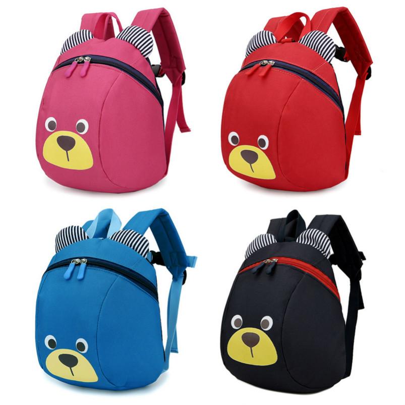 [해외]봉제 백팩 안티 - 잃어버린 키즈 베이비 걷기 배낭 안전 가방 귀여운 동물 곰 어린이 백팩 유치원 가방 세 1-3/Plush Backpacks Anti-lost Kids Baby Walking Backpack Safety Bag Cute Animal Bear C