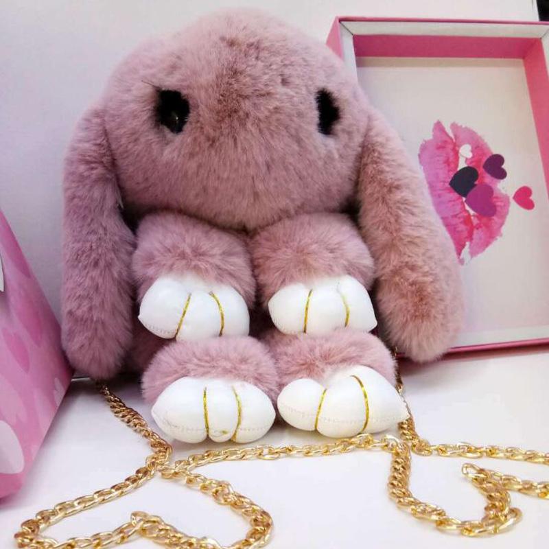 [해외]새로운 사랑스러운 봉제 토끼 장난감 가방 만화 어린이 귀여운 토끼 장난감 플러시 배낭/New lovely plush rabbit toys bag cartoon children cute rabbit toys plush backpack