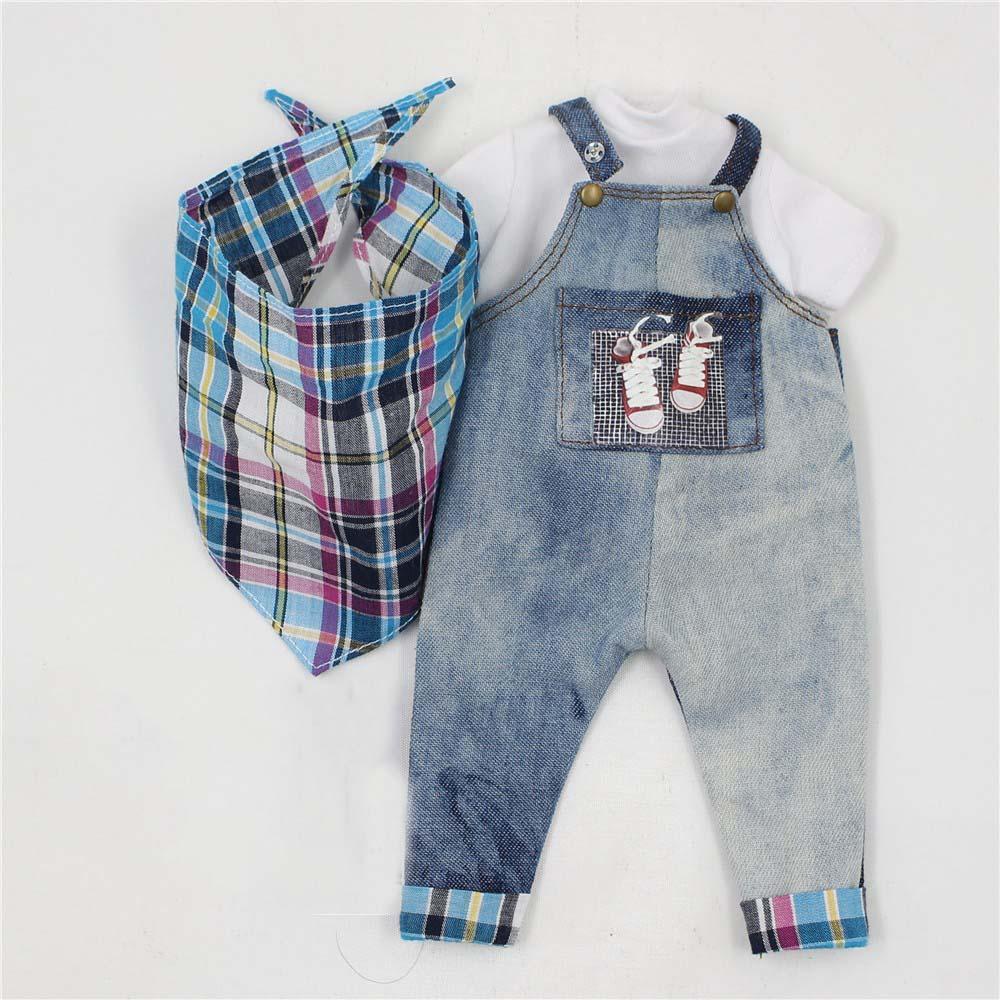 [해외]통통한 Blyth 청바지 흰 셔츠와 스카프 양복 옷/Suit Clothes For Plump Blyth Jeans White Shirt and Scarf