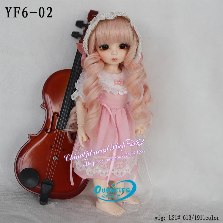 [해외]OUENEIFS, 가을, 쉬폰 롱 슬리브 드레스, 1 / 6 bjd sd doll 옷, 인형 또는 가발 없음 YF6-01 / 02 / 15 / 20/OUENEIFS , in autumn ,chiffon Long Sleeve Dress ,1/6 bjd sd dol