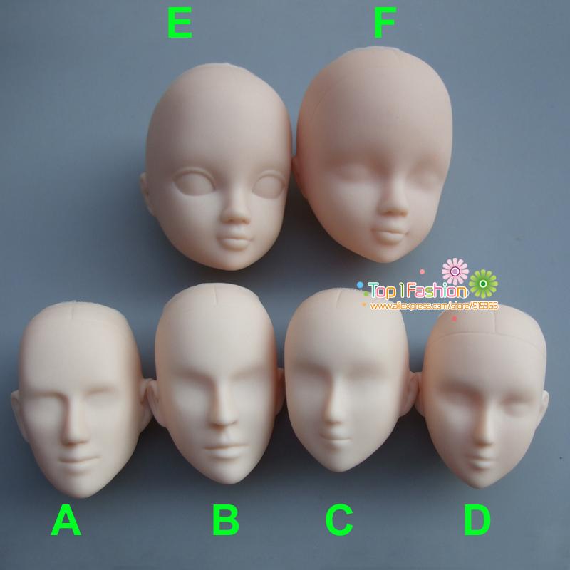[해외]메이크업 연습을플라스틱 연습 메이크업 여성 인형 머리 DIY 헤드/Plastic Practice Makeup Man Women Doll Head DIY Heads For Make Up practise