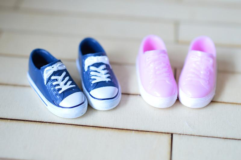 [해외]1/6 패션 인형 신발 운동화 인형 신발 아조 네에 대한 momoko 인형 애들 장난감 선물/1/6 fashion doll shoes sneaker flats doll shoes for azone s momoko doll kids toys gift