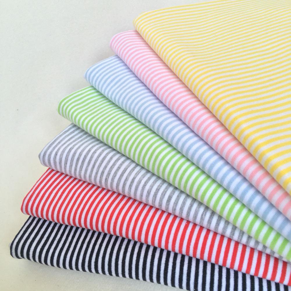 [해외]3pcs DIY 수제 인형 옷 소재 2mm 스트라이프 코 튼 라이크라 Blyth 옷을스트레치 니트 직물 인형 T 셔츠 양말 50 * 40cm/3pcs Diy Handmade Doll clothes material 2mm stripe cotton Lycra Str