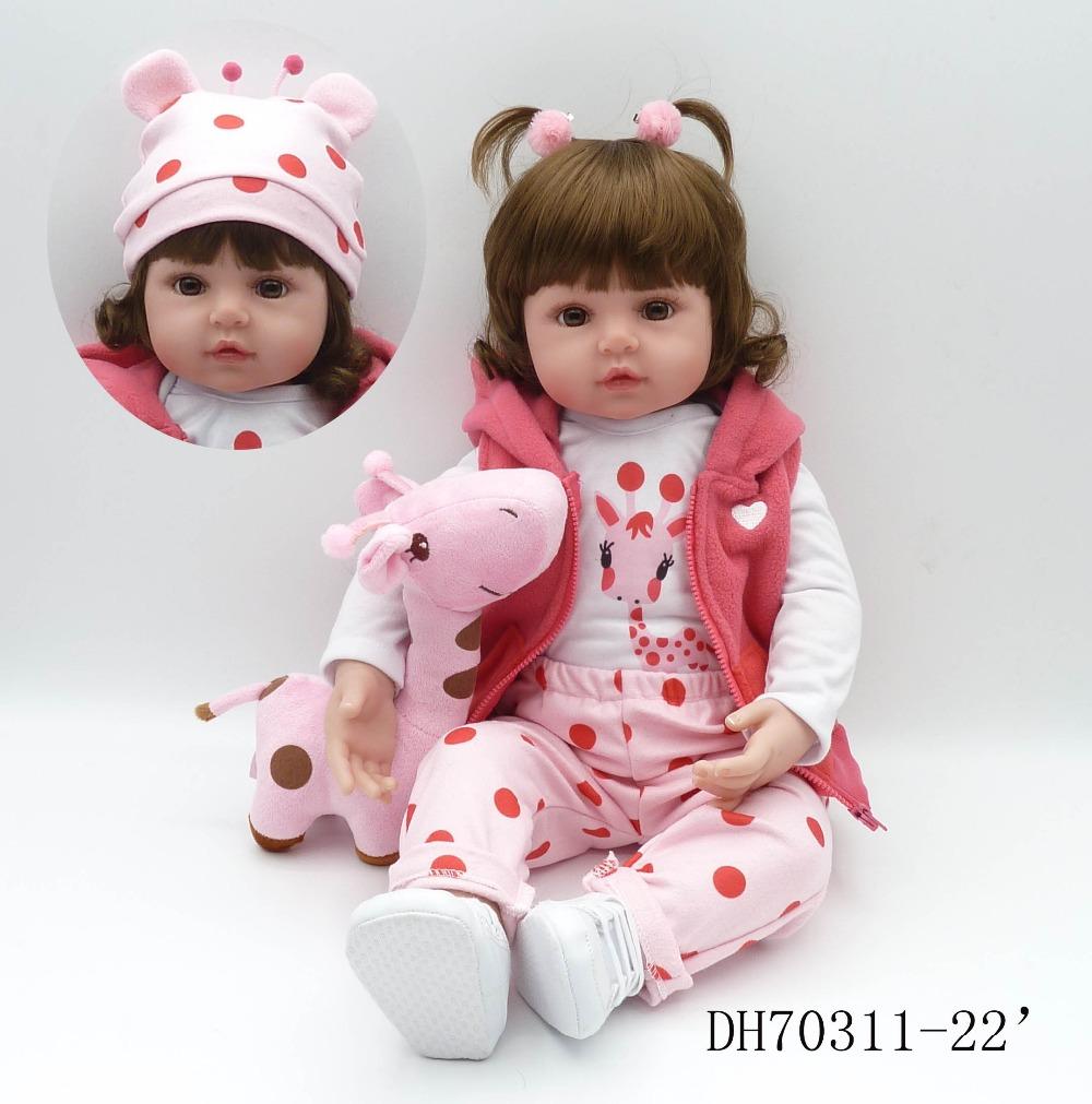 [해외]NPKCOLLECTION 19 인치 48cm의 생생한 재 탄생 된 인형 어린이 신생아 Christamas 선물 및 생일 선물/NPKCOLLECTION  19inches 48cm lifelike reborn doll  wholesale newborn baby to