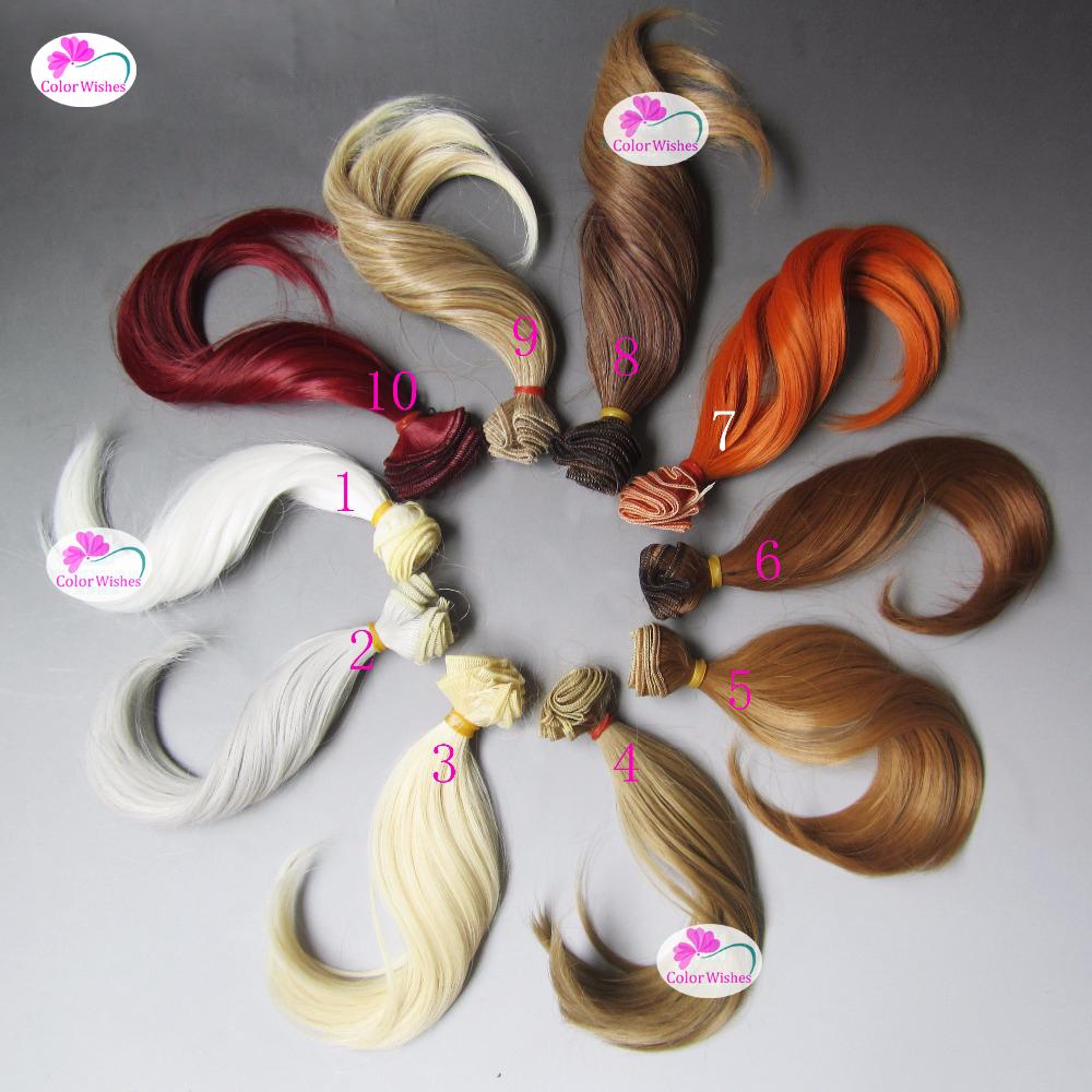 [해외]15cm * 100CM 빅 벤드 웨이브 인형 머리카락 컬링 1/3 1/4 1/6 BJD / SD DIY 인형 가발/15cm*100CM Big bend wave curls hair for dolls 1/3 1/4 1/6 BJD/SD DIY doll wig