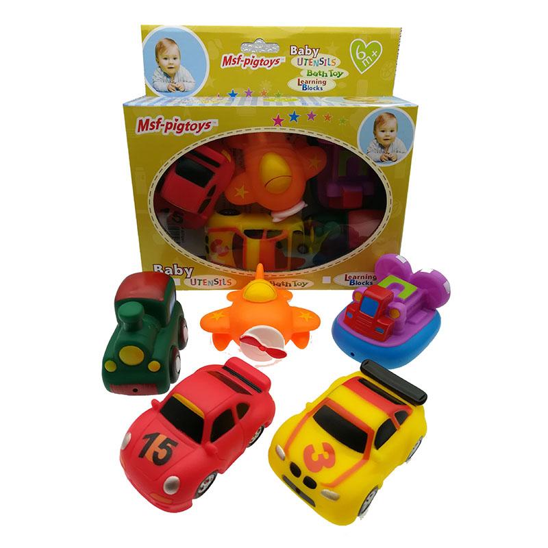 [해외]5 조각 / lot 차 물 분사 도구 목욕 장난감 바다 조기 교육 학습 장난감 선물 용품/5 pieces / lot car Water Spraying Tool Bath Toy ocean Early Educational learning toys Gifts