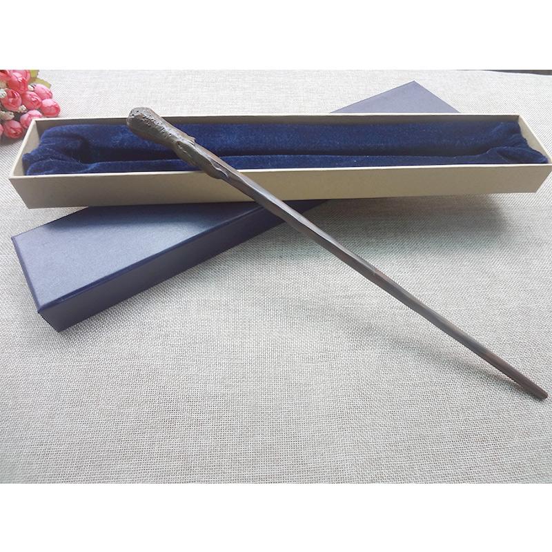 [해외]NewMetal / Iron Core Elder 마술 지팡 론 위즐리 지팡이 36cm 경전 Edition 비 발광 지팡이 수집 장난감 선물/NewMetal/Iron Core The Elder magic wand Ron Weasley wand 36cm script