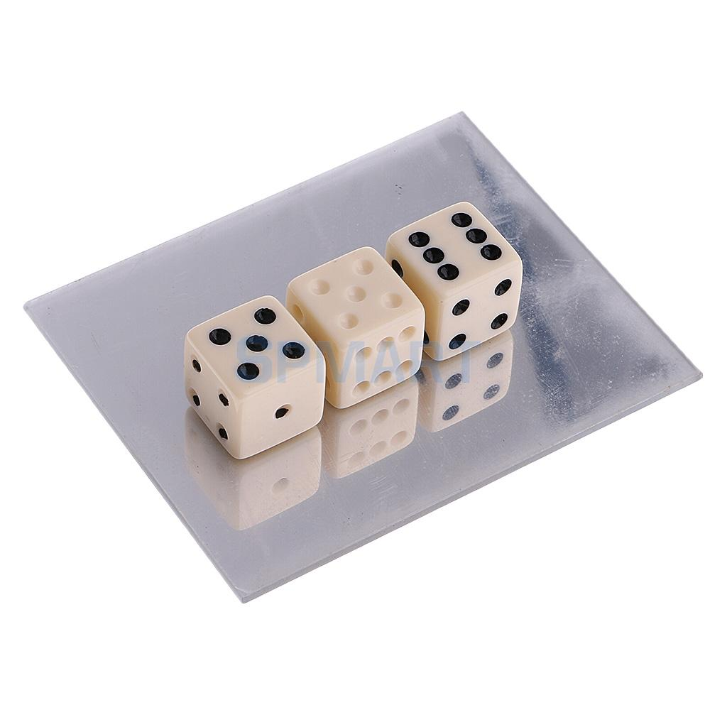 [해외]매직 트릭 미러 주사위 환상 매직 유도 교습 매직 트레이닝 장난감/Magic Trick Mirror Dice Illusion Magic Prop Instructional Magic Training Toy