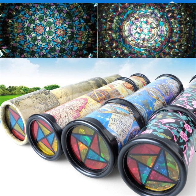[해외]21cm 회전 만화경 다채로운 세계 취학 전 완구 스타일 무작위로 최고의 아이 선물/21cm Rotating Kaleidoscopes Colorful World Preschool Toys Style at Random Best Kids Gifts