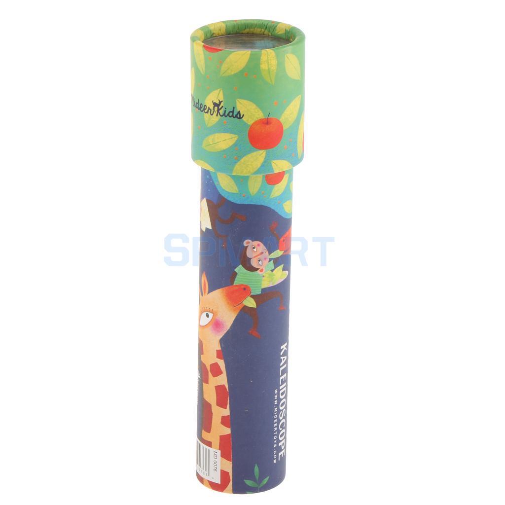 [해외]상상력이 넘치는 만화경 마분지 만화경 다채로운 세계 장난감 상호 작용 장난감 어린이 선물 - 기린/Imaginative Kaleidoscope Cardboard Kaleidoscope Colorful World Toys Interactive Toys Kids G