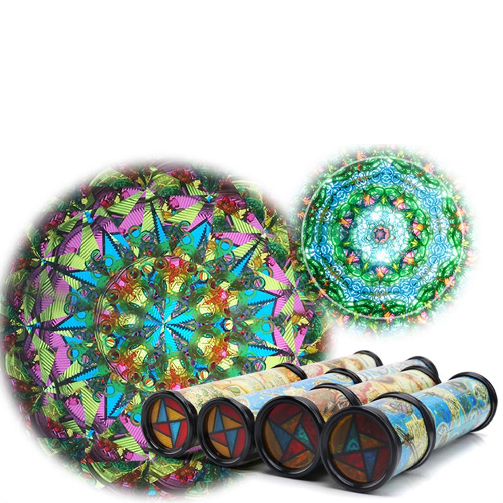 [해외]30cm 회전 어린이 만화경 베이비 키즈 유아 교육 과학 발달 장난감 선물 어린 시절의 자폐증 완구 P20/30cm Rotation Children Kaleidoscope Baby Kids Toddler Educational Science Developmenta