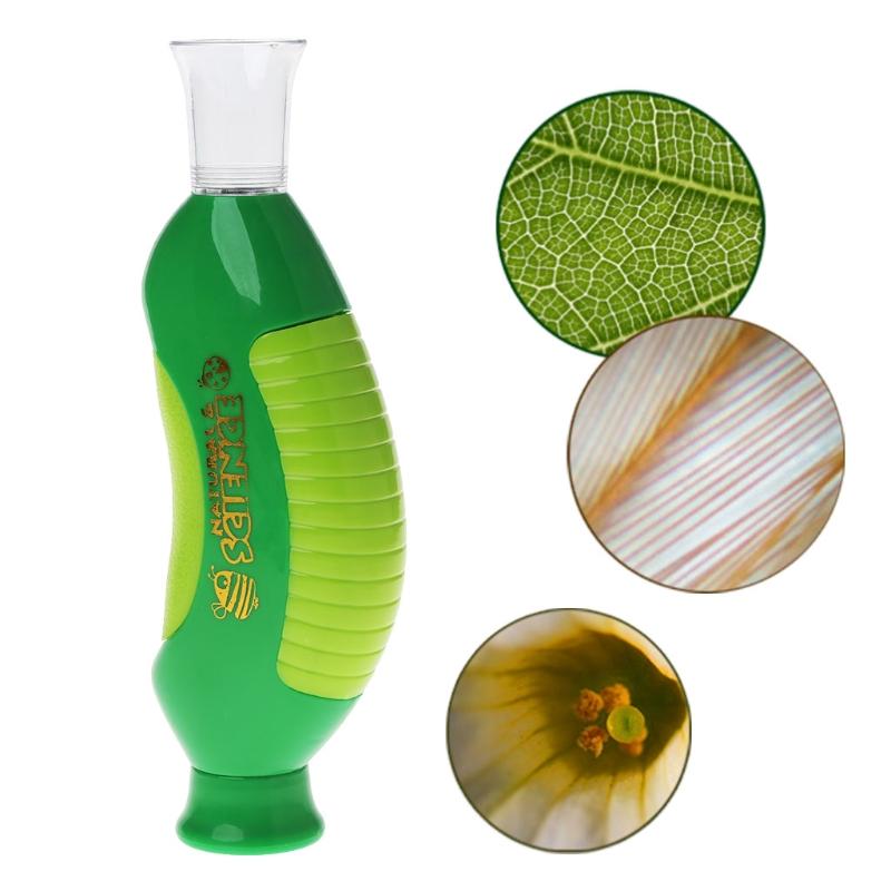 [해외]생물 현미경 손 현미경 80X 가정 학교 교육 장난감 선물 아이 - 어린이 m15/Biological Microscope Hand Microscope 80X Home School Educational Toy Gift For Kids Child-m15