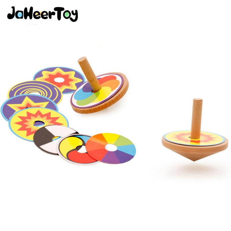 [해외]어린이를JaheerToy 아기 장난감 자이로 부모와 자녀의 상호 작용 교육 장난감 3-4-5-6 3 세 어린이 나무 창조적 인 선물/JaheerToy Baby Toys for Children Gyro parent-child interaction Education