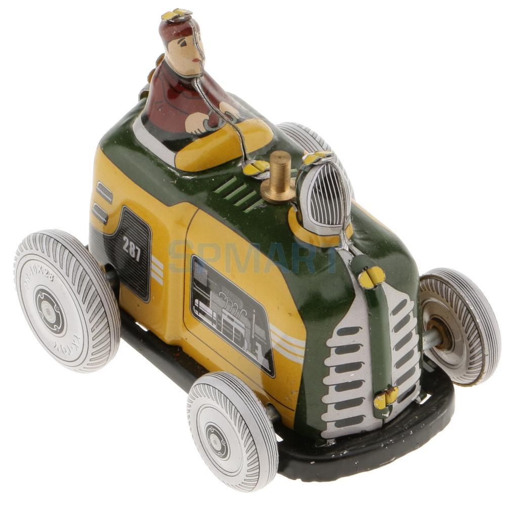[해외]빈티지 디젤 트랙터 모델 바람 업 시계 장난감 주석 장난감 컬렉션 어린이를선물 성인/Vintage Diesel Tractor Model Wind-up Clockwork Tin Toys Collection Gifts for Kids Children Adult