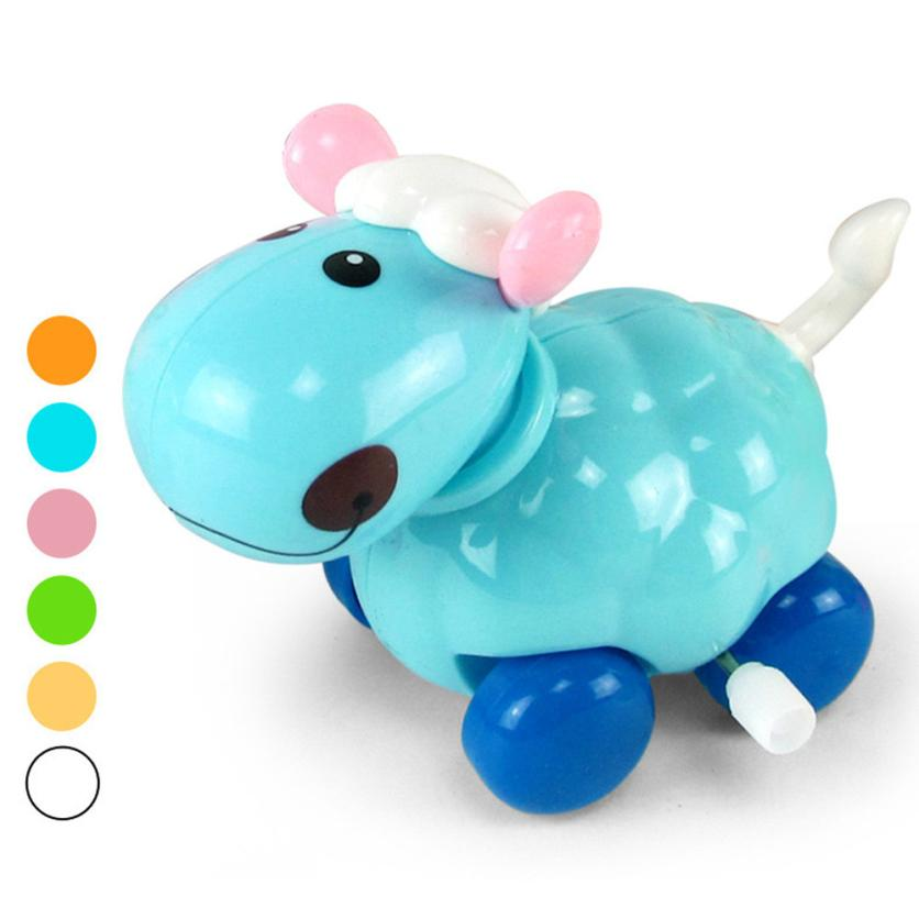 [해외]시계 태엽 재미 있은 장난감 만화 작은 양 시계 태엽 차 교육 완구 선물 Z829/Clockwork Funny Toy Cartoon little Sheep Clockwork Car Educational Toys Gift Z829
