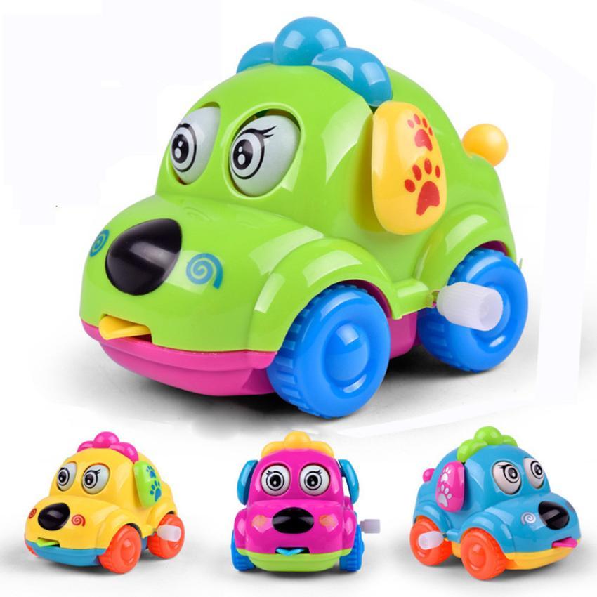 [해외]태엽 장난감 재미 만화 장난감 툰 장난감 자동차 교육 완구 Z921/Clockwork Funny Toy Cartoon Puppy Tongue Clockwork Car Educational Toys Z921