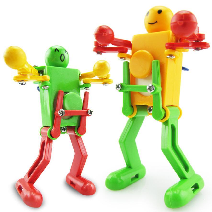 [해외]아기 어린이 발달 선물 퍼즐 장난감 Z921에 대한 춤 로봇 장난감을 올려 시계 바람/Clockwork Wind Up Dancing Robot Toy for Baby Kids Developmental Gift Puzzle Toys Z921