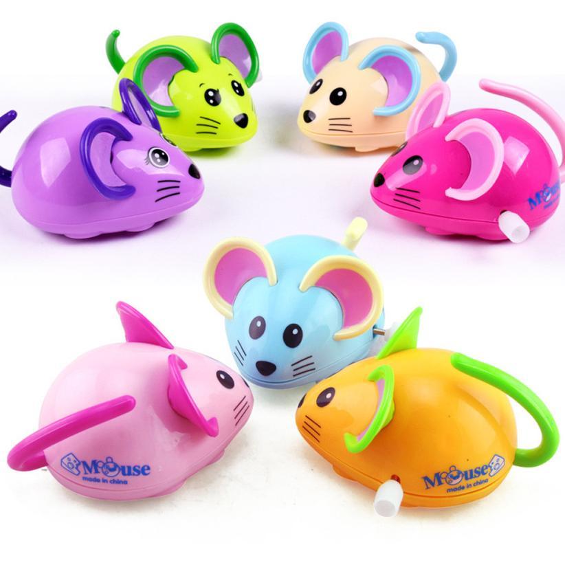 [해외]태엽 재미있는 장난감 만화 마우스 시계 자동차 교육 완구 Z920/Clockwork Funny Toy Cartoon Mouse Clockwork Car Educational Toys Z920