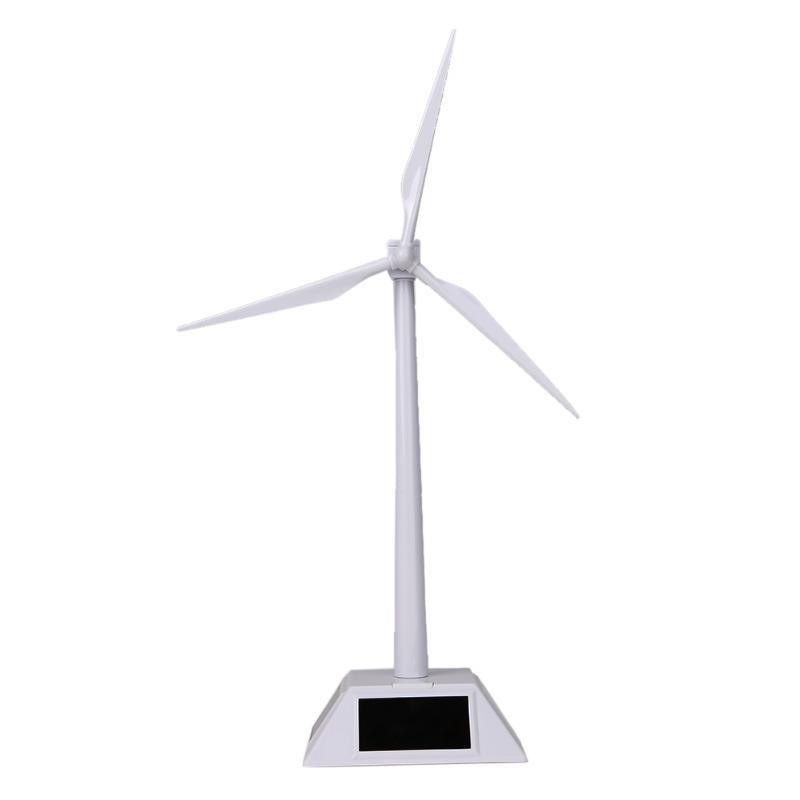 [해외]태양 강화한 풍차 Sunpower 태양 강화한 아 BS 플라스틱 풍력 발전 / 아이들을바람 터빈 백색 아이들 장난감 선물/Solar Powered Windmill Sunpower Solar Powered ABS Plastics Windmills/Wind Turb