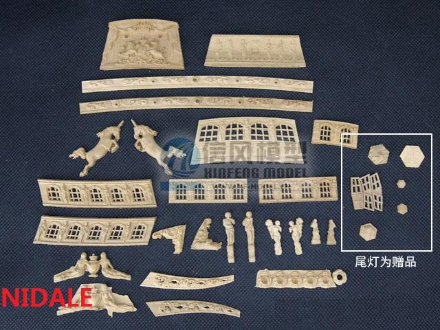 [해외]NIDALE 모형 호화스러운 생생한 배 조각 나무 배 모형 가늠자 1/80를훈장 한 벌 네덜란드 왕 요트 모형/NIDALE Model luxurious vivid Pear carving wooden ship model Decorations suit for Sca