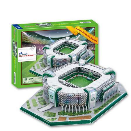 [해외]Candice guo 3D 퍼즐 DIY 장난감 종이 건물 모델 브라질 parque 남극 풋볼 경기장 게임 아이 생일 선물 세트를 조립하십시오/Candice guo 3D puzzle DIY toy paper building model Brazil parque an
