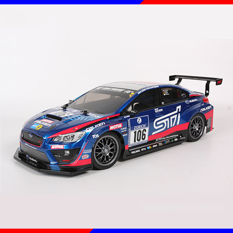 [해외]DIY TAMIYA 4WD 자동차 모델 TT-02 Subaru WRX STI 24h urburgring 58645/DIY TAMIYA 4WD Car Model TT-02 Subaru WRX STI 24h Nurburgring 58645