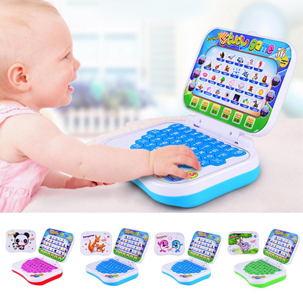 [해외]다기능 보안 플라스틱 초기 대화 형 미니 학습 교육 컴퓨터 기계 장난감 아이 소년/Multifunctional Security Plastic Early Interactive Mini Learning Educational Computer Machine Toys f