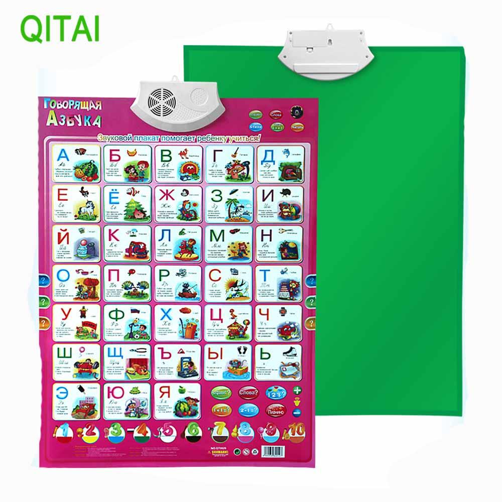 [해외]2017 러시아어 학습 아기 교육 학습 기계 장난감 알파벳 음악 Phonic 벽 교수형 차트/2017 Russian language Learning   baby Education Learning Machine  toy Alphabet Music  Phonic W