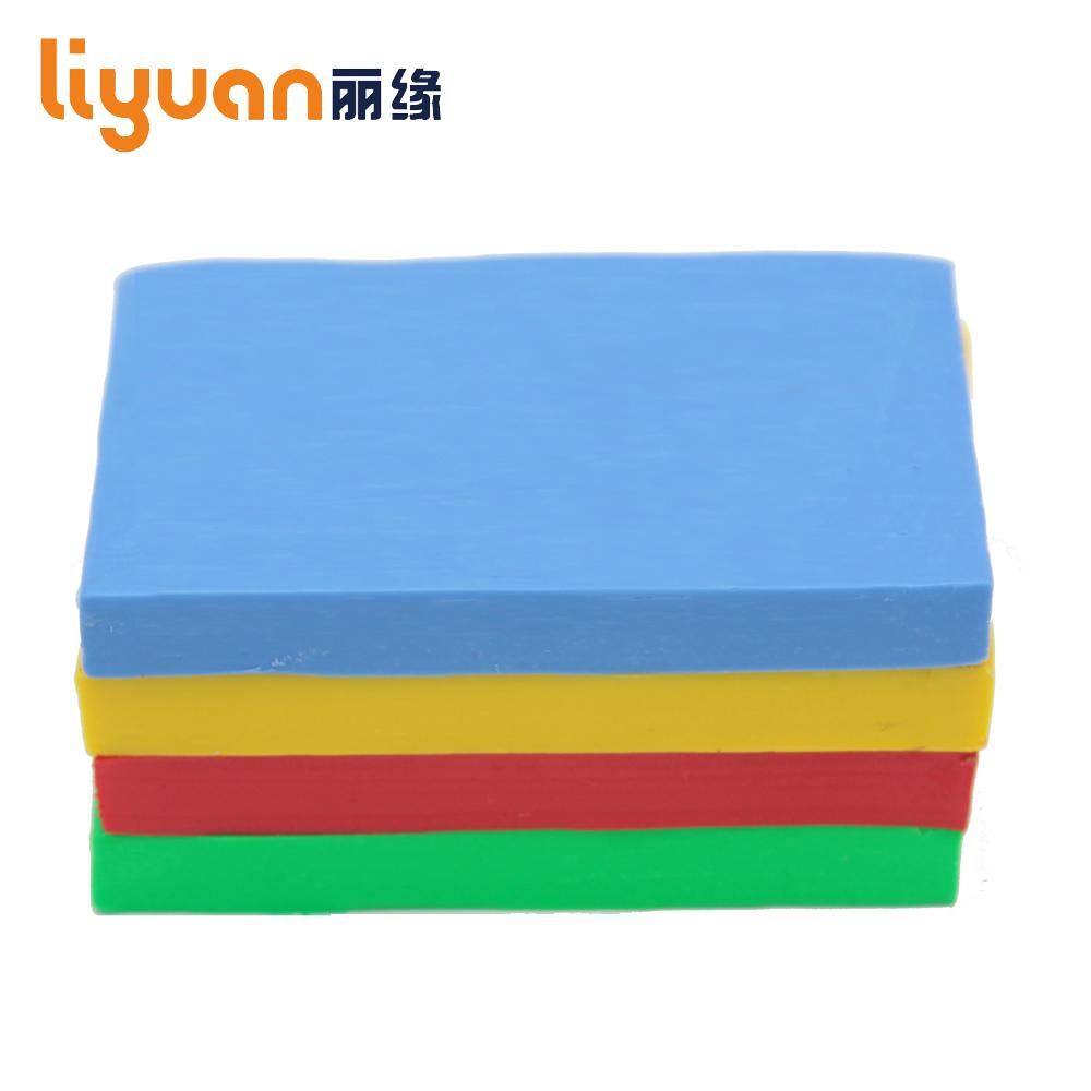 [해외]500g / 17.64oz 솔리드 컬러 오븐 베이킹 소프트 폴리머 Plasticine 점토 Fimo 효과 점토 블록 교육용 DIY 모델링 공예 미술 완구/500g/17.64oz Solid Color Oven Bake Soft Polymer Plasticine C