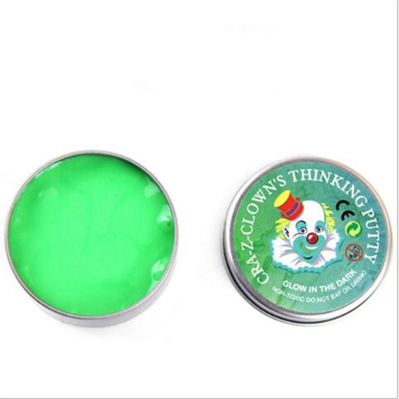 [해외]재미 있은 DIY 빛나는 모델링 점토 재미 감압 Plasticine 튀는 점토 점액 도구 볼 교육 점액 장난감 선물/Funny DIY luminous Modeling Clay Fun Decompression Plasticine Bouncing Balls Of C