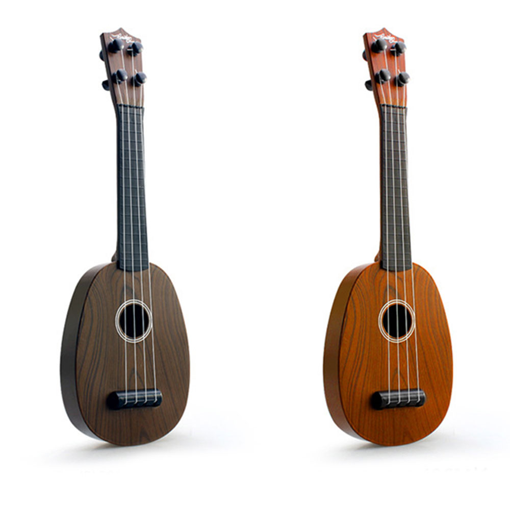 [해외]41cm Ukelele 기타 완구 어린이 시뮬레이션 나뭇결 교육 선물/41cm Ukelele Guitar Toys Children Simulation Wood Grain Educational Gifts