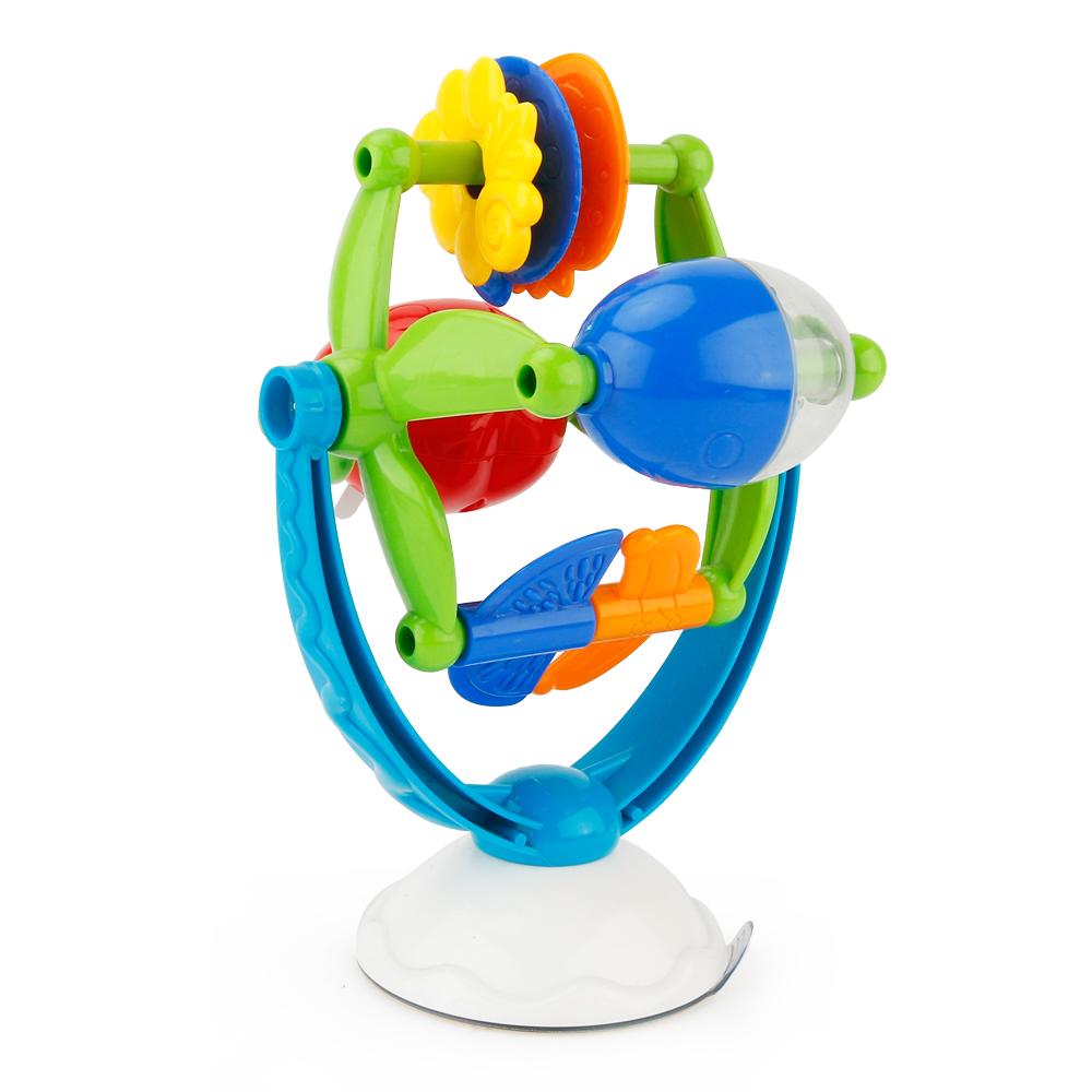 [해외]음악 빨판 흥미로운 만화 빨판 장난감 인터랙티브 음악 플라스틱 교육 발달 회전 빨판/Music Sucker Interesting Cartoon Sucker Toy Interactive Music Plastic Educational Developmental Rot