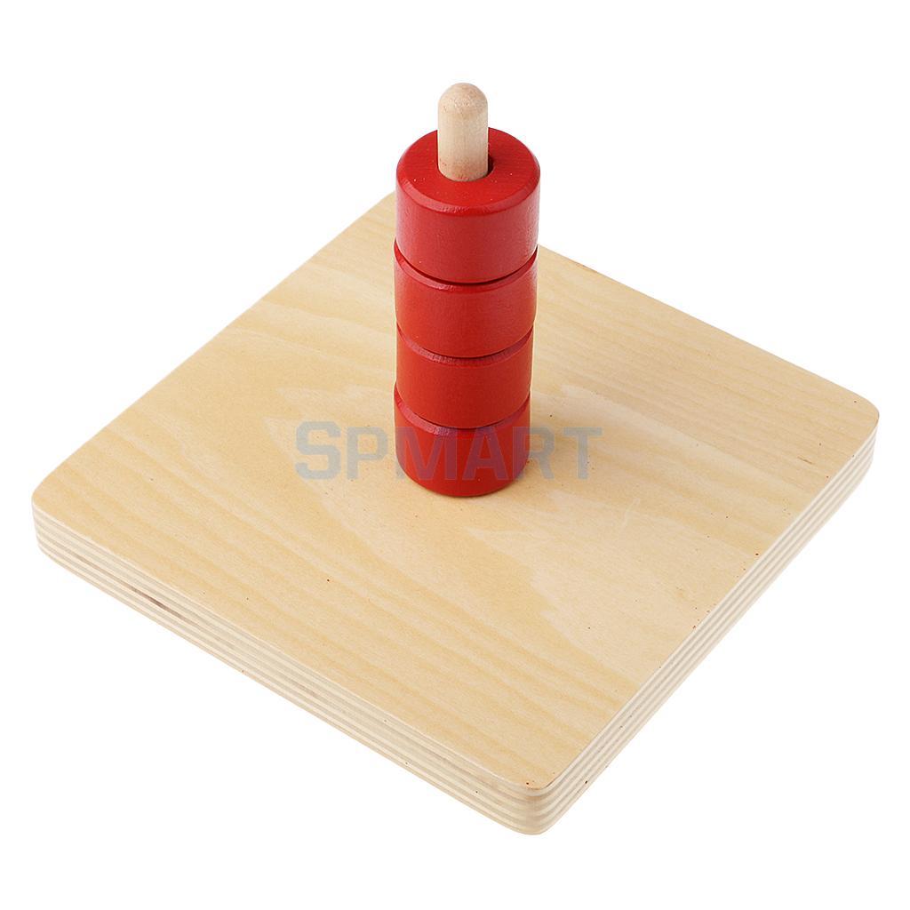 [해외]몬테소리 초기 학습 교육 원통형 수직 다이얼 랜턴 링/Montessori Early Learning Educational Cylindrical Vertical Dial Lantern Ring