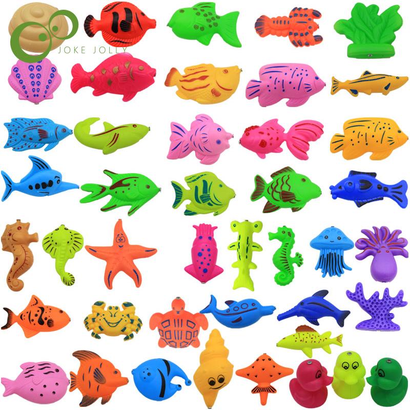 [해외]많은 학습 및 amp; 교육 자기 낚시 장난감 야외 재미 & amp; 아기 / 아이를스포츠 물고기 장난감 선물 작은 또는 큰 크기 WYQ/lots of Learning & education magnetic fishing toy comes outdo