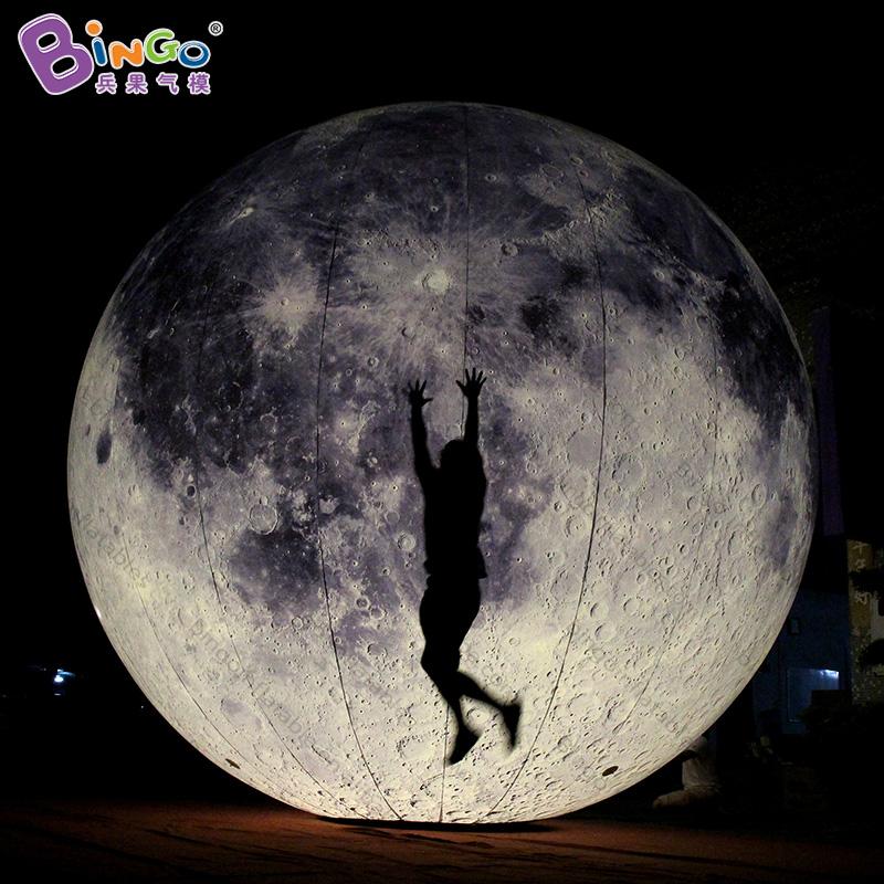 [해외]전체 인쇄 8m 풍선 문 풍선 거 대 한 풍선 문, 조명 풍선 달 볼 이벤트에 대 한 사용자 지정 크기/Full Printing 8m Inflatable Moon Balloon Giant Inflatable Moon, Lighting Inflatable Moon