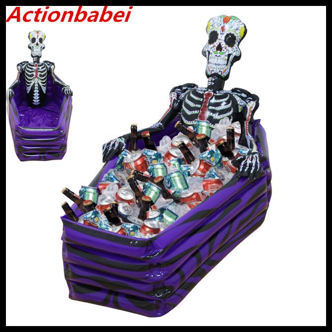 [해외]Actionbabei 새로운 1pl 풍선 해골 장난감 수영장 바 ktv 휴일 장식 할로윈 장식 소품 물통 장난감/Actionbabei New 1pcs Inflatable skull toy pool bar ktv Holiday decorations Hallowee